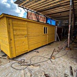 Готовые строения - Бытовка деревянная производство А-497, 0