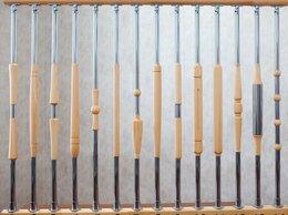 Лестницы и элементы лестниц - Балясины из дерева и металла., 0