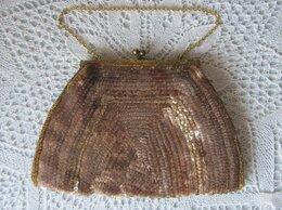 Клатчи - Винтажная сумочка на фермуаре, 0