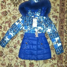 Куртки и пуховики - Куртка для девочки зима tailang 601, рост 128, 0