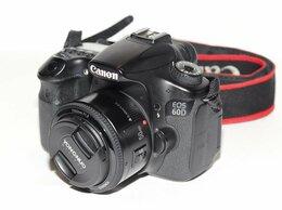 Фотоаппараты - Canon 60D kit YongNuo 50 1,8, 0