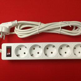 Источники бесперебойного питания, сетевые фильтры - Сетевой фильтр SmartBuy One 5 розеток 10А 2200W белый 3 м, 0