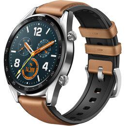 Умные часы и браслеты - Умные часы Huawei Watch GT Classic Brown (FTN-B19), 0