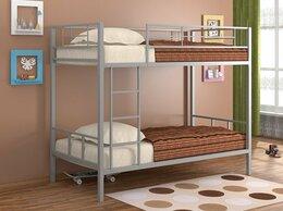 Кровати - Металлическая кровать Севилья-2 (Серый), 0