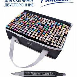 Настольные игры - Набор маркеров для скетчинга двусторонних FANTASIA, 262 цв. (в комплекте 2 марке, 0