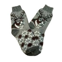 Носки - Носки шерстяные двойной вязки - Марал, 0
