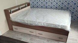 Кровати - Кровать с матрасом и ящиками, 0