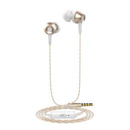 Наушники и Bluetooth-гарнитуры - Наушники Langsdom М299 золотой, 0