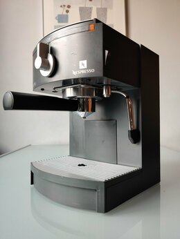 Кофеварки и кофемашины - Кофемашина Nespresso Krups с капучинатором, 0
