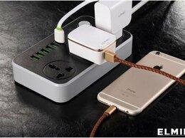 Зарядные устройства и адаптеры - Удлинитель сетевой фильтр с USB зарядкой SС3604, 0