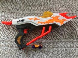 Игрушечное оружие и бластеры - Hasbro Nerf Nitro Пусковое устройство Даблбрейк, 0