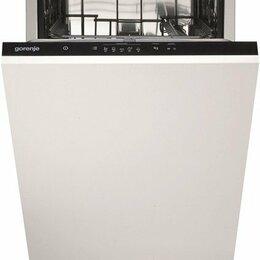 Посудомоечные машины - Встраиваемая посудомоечная м-на 45 см Gorenje GV-520E10, 0
