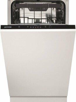 Посудомоечные машины - Встраиваемая посудомоечная м-на 45 см Gorenje…, 0
