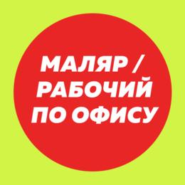 Маляр - Маляр / рабочий по офису, 0