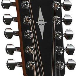 Акустические и классические гитары - Cort AD810E-12 OP Гитара электроакустическая 12-струнная, цвет натуральный (..., 0