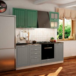 Мебель для кухни - Кухня Лондон 2, 1 м, 0