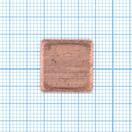 Термопаста - Медная термопрокладка 0,1мм - 1шт., 0