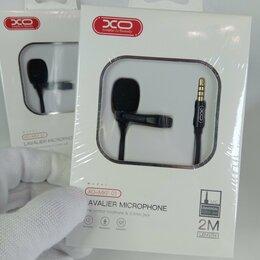Микрофоны - Петличный микрофон 3.5mm jack, 0