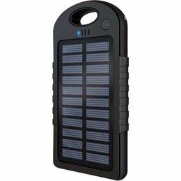 Универсальные внешние аккумуляторы - Внешний аккумулятор  с солнечной батареей, 0