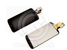 Дисплеи и тачскрины - Дисплей для LG Nexus 4 E960 +тач черный, 0