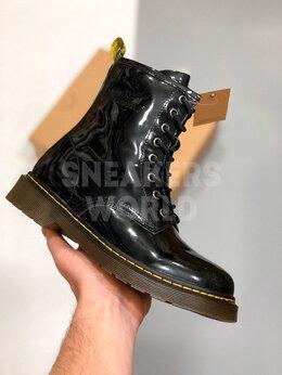 Ботинки - Dr Martens 1460 Black с мехом, 0