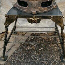 Аксессуары для грилей и мангалов - Дровник и подставка под печь, 0