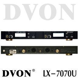 Радиосистемы и радиомикрофоны - DVON LX-7070U (HS) радиосистема UHF, 2 головных…, 0