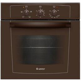 Духовые шкафы - Газовая духовка Gefest 601-01 К Белый коричневый , 4 режима, таймер , металич..., 0