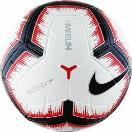 Мячи - Мяч футбольный NIKE Merlin, 0