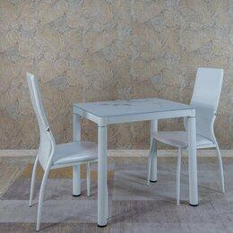 Столы и столики - Стол обеденный 80*60 - белый, 0