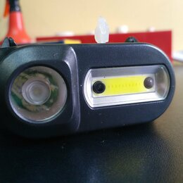 Фонари - Налобный фонарь аккумуляторный HT822 с датчиком движения , 0