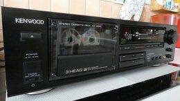 Музыкальные центры,  магнитофоны, магнитолы - Kenwood KX-4520 3-х головая стерео дека 1989г., 0