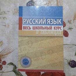 Обучающие материалы и авторские методики - Русский язык весь школьный курс в таблицах, 0