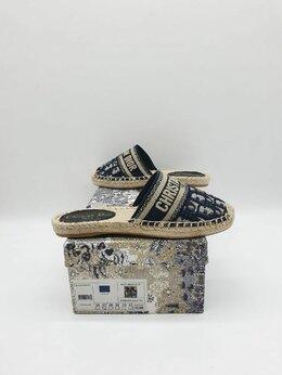 Шлепанцы - Тапочки. Dior, 0