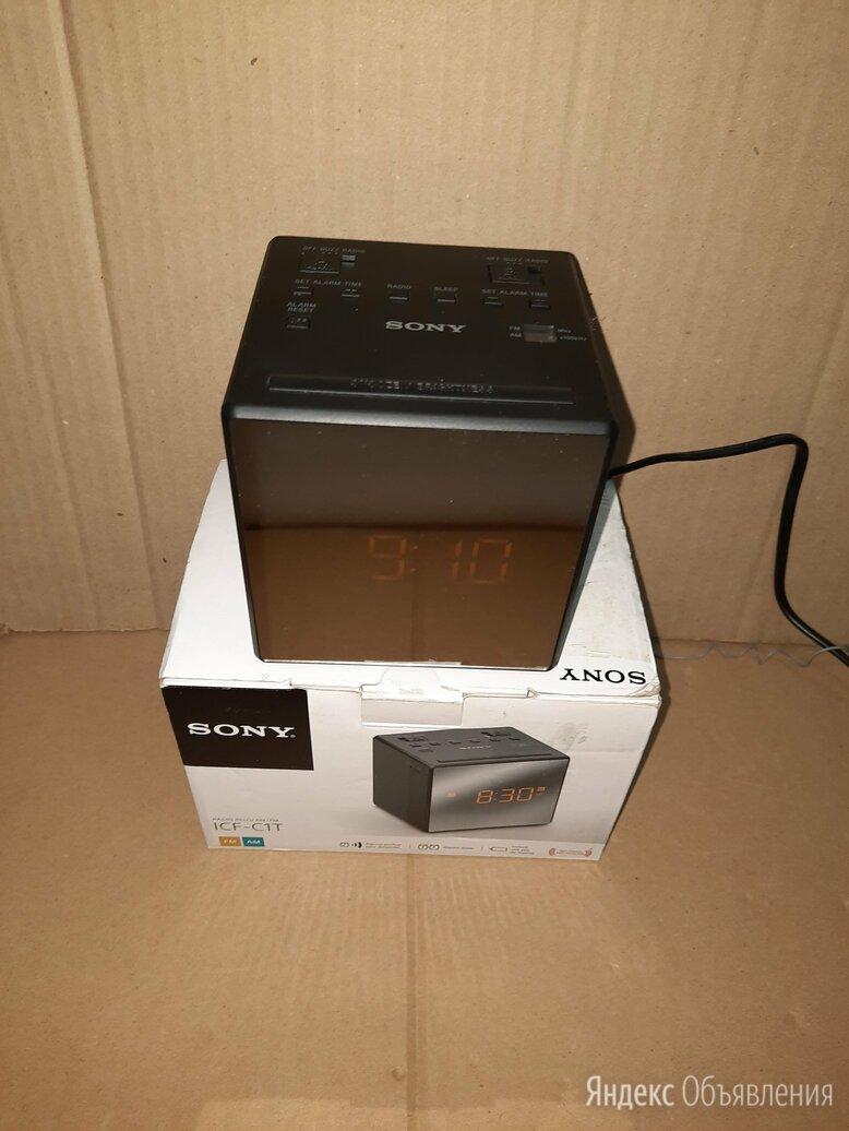 Радиобудильник Sony ICF-C1 по цене 1500₽ - Радиоприемники, фото 0