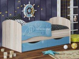 Кроватки - Кровать Дельфин-3 голубой, 0