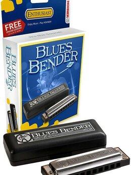 Губные гармошки - Hohner M58511X Blues Bender Bb Губная гармоника…, 0