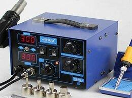 Электрические паяльники - Паяльная станция YIHUA 862D+ Многофункциональная, 0