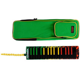 Клавишные инструменты - Hohner C94403 AirBoard Rasta 32 Мелодика…, 0