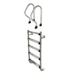 Лестницы и поручни - Лестница из двух частей  Aquaviva SP-515 5 ступени, 0