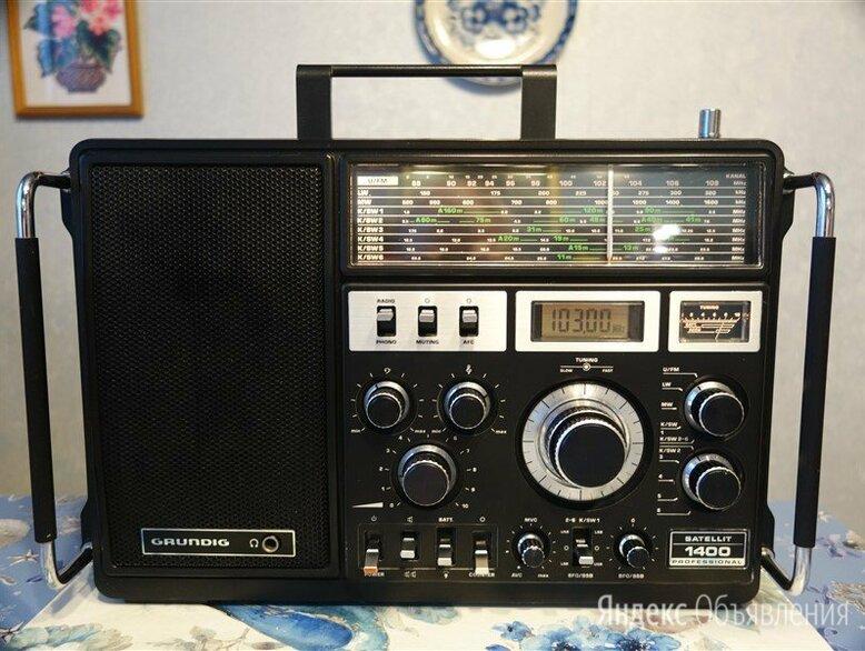Радиоприемник Grundig Satellit 1400 Pro по цене 23999₽ - Радиоприемники, фото 0
