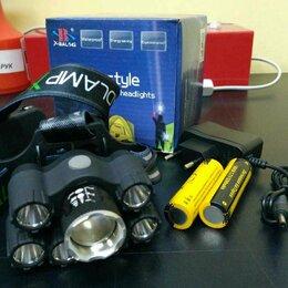 Фонари - Налобный фонарь аккумуляторный H-T557, 0