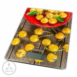 Кухонные весы - Весы кухонные MARTA MT-1634 желтая черешня, 0