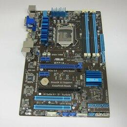 Материнские платы - Игровая Asus Z77-A LGA 1155 Z77 lga1155 B75 P67, 0