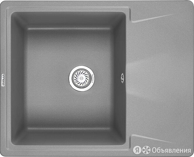 Мойка кухонная Granula GR-6201 алюминиум по цене 8260₽ - Кухонные мойки, фото 0