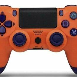 Рули, джойстики, геймпады - Джойстик для PS4 оранжевый, 0