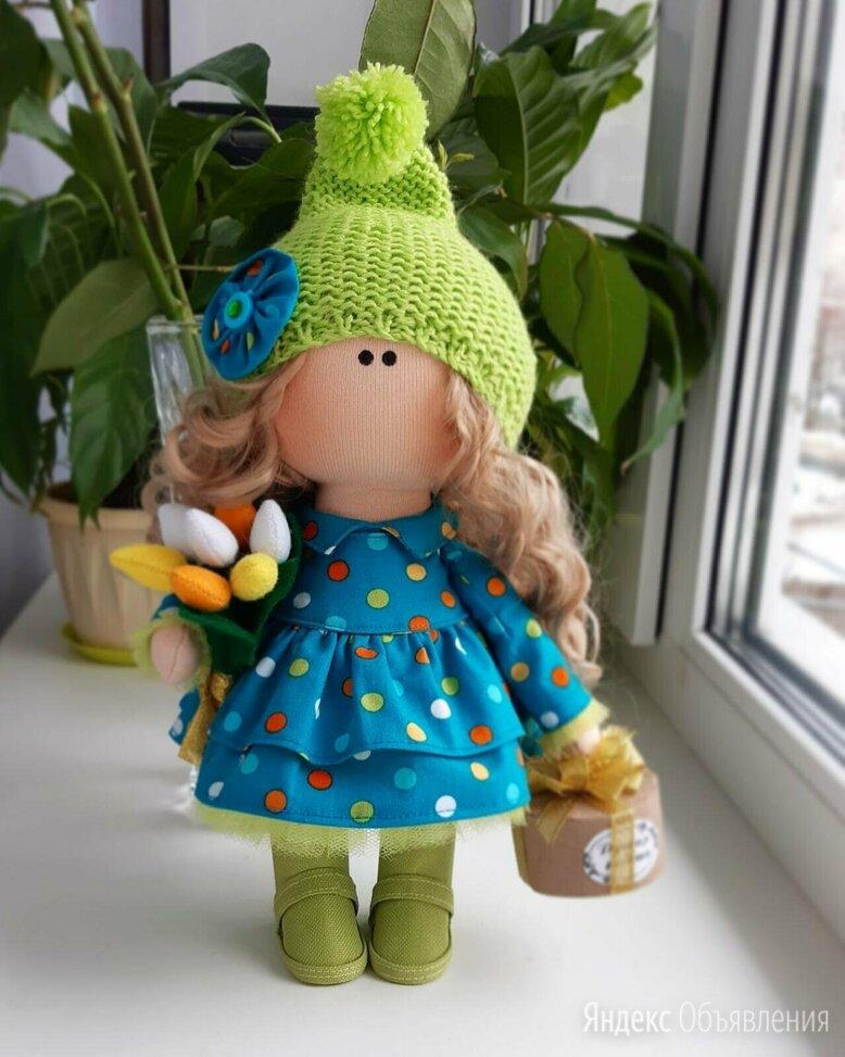 Девочка с тюльпанами. Кукла. по цене 3000₽ - Куклы и пупсы, фото 0
