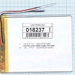 Аккумуляторы - Аккумулятор Li-Pol (батарея) 3*75*95мм 3pin…, 0
