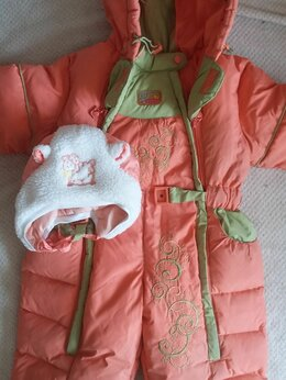 Теплые комбинезоны - Зимний комбинезон для малышки, 0