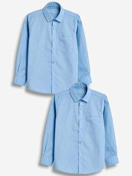 Рубашки - Рубашки школьные, голубые, р. 134-140, 0
